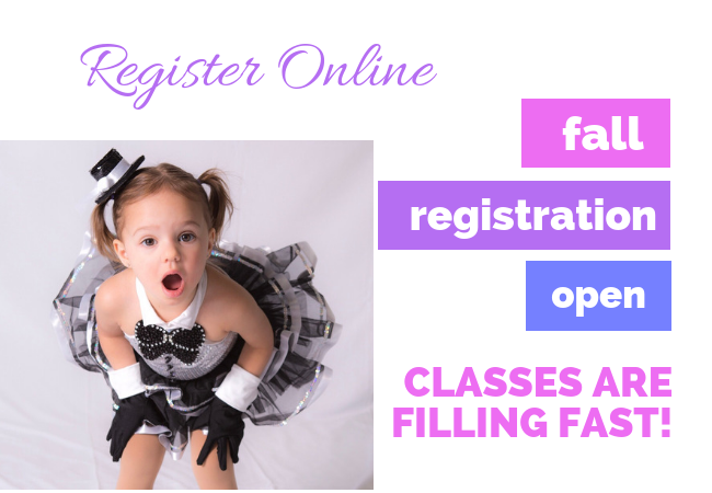 Fall Registration Website