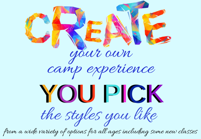Create Your Own Camp Experience Website