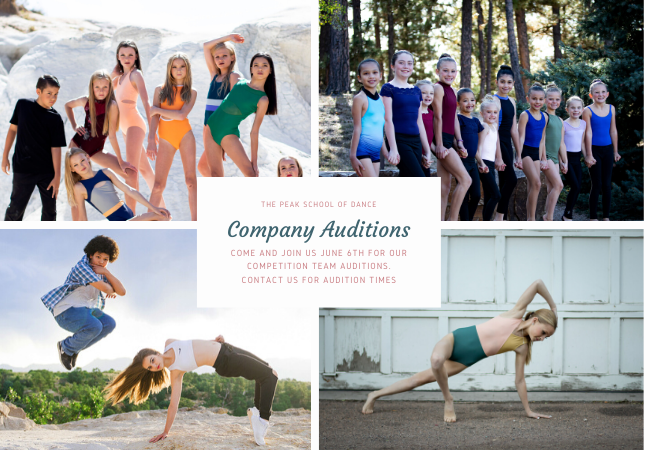 Auditions Website